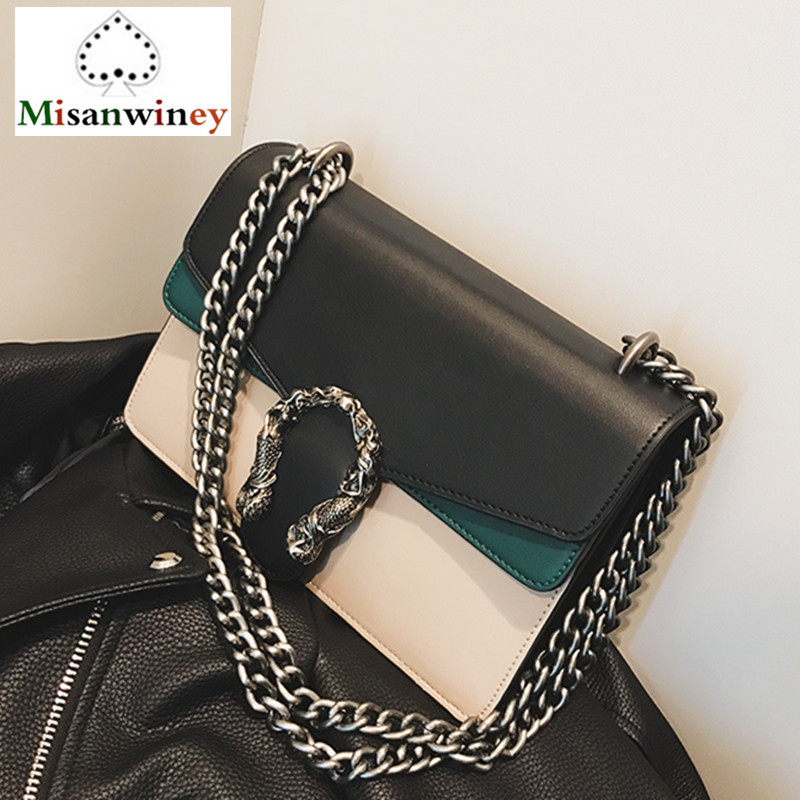 Fashion Chain Casual Shoulder Bag Messenger Bag Retro Hit Color Women Bag\Handbag Lady Flap Motorcycle Bag Famous Designer Louis недорго, оригинальная цена