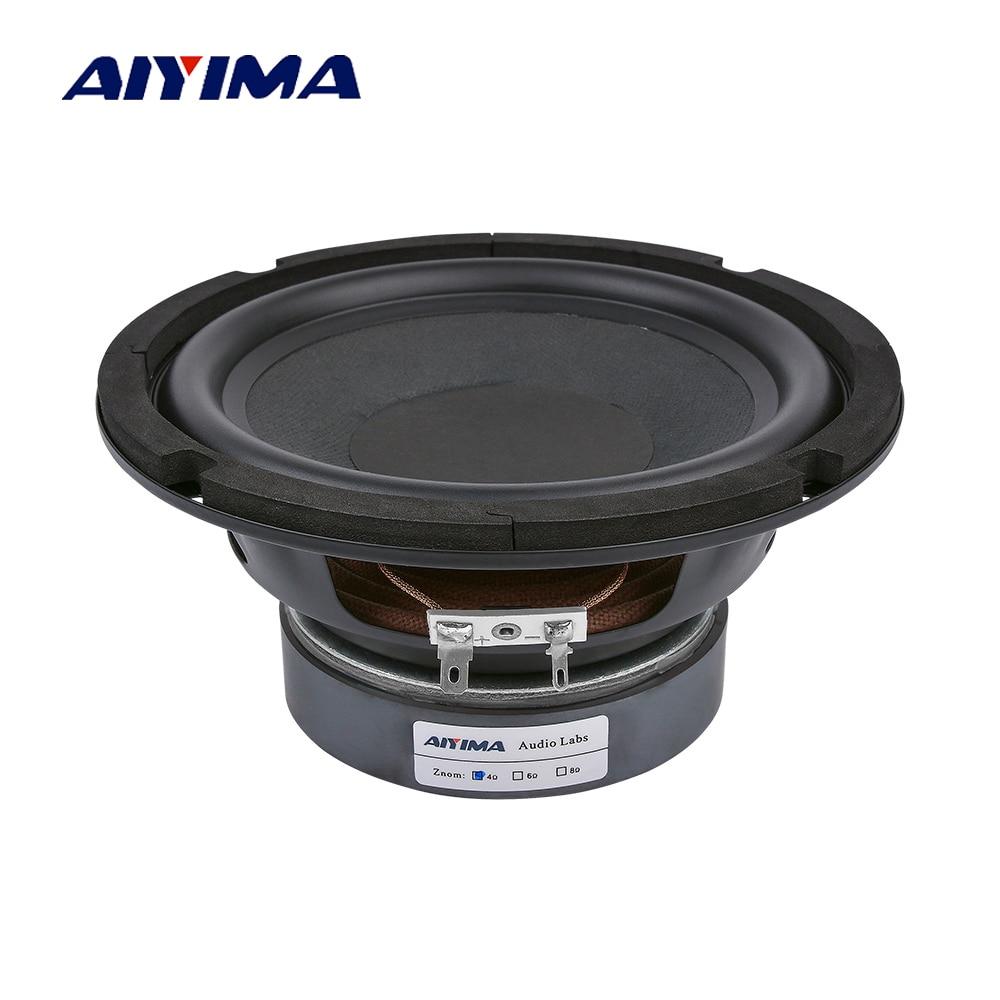AIYIMA 6.5 Cal głośniki z subwooferem 80W 4 8 Ohm wysokiej mocy Hifi gorączka głośnik niskotonowy muzyka Audio regał głośnik DIY nagłośnienie
