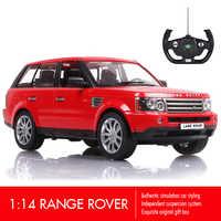 Rastar Range Rover RC Car 1:14 SUV Remote Control Toys Car Radio Control Machine Model Electric Car Toys for Boys Birthday Gifts
