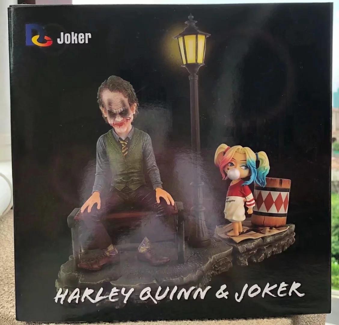 DC Joker Harley Quinn yapmak Esquadrao Suicida & Joker Coringa e Harley Quinn Boneca Tahsil Action Figure PVC Modelo ConjuntoDC Joker Harley Quinn yapmak Esquadrao Suicida & Joker Coringa e Harley Quinn Boneca Tahsil Action Figure PVC Modelo Conjunto