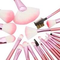 22 Pcs Kits Make Up Brush Set Professional Cosmetic Face Eye Styling Tools Powder Makeup Brushes
