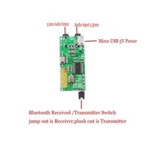 Image 1 - Transmissor e receptor de áudio sem fio 2 em 1, decodificador de placa aux tf bluetooth 4.2 e 3.5mm para fone de ouvido, alto falante diy