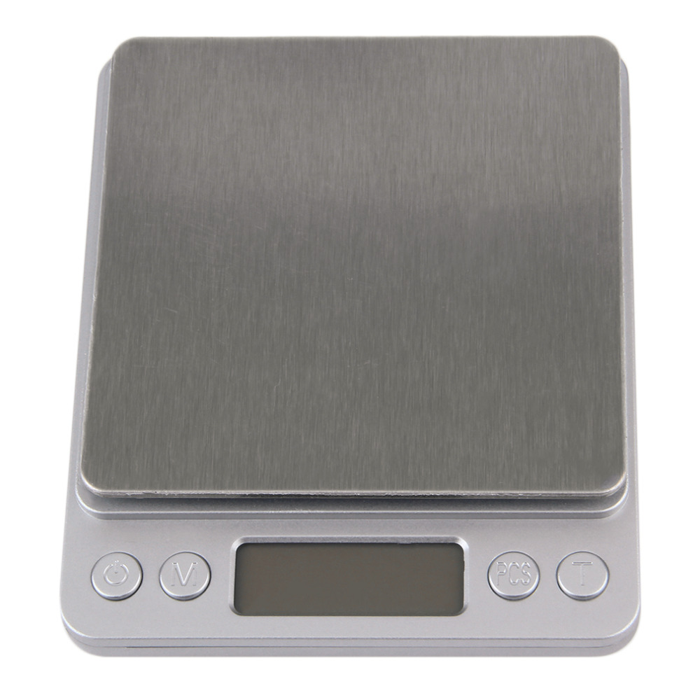 Mini High Accuracy Digital Scale Electronic Scale Platform Jewelry Gold Diamond Scale 500g/0.01g Weighing Balance Blue LCD