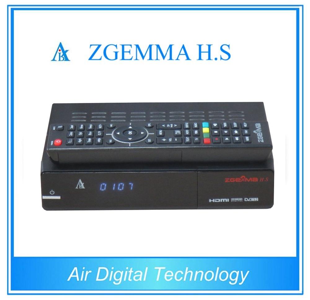 10 pcs/lot ZGEMMA H.S dual core CPU running single tuner DVB S2 with Enigma2 IPTV firmware 10pcs zgemma star i55 support satip iptv box bcm7362 dual core mainchipset 2000 dmips cpu linux enigma 2 hdmi connection