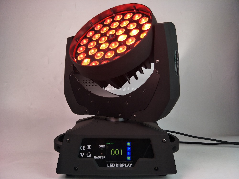 led dj wash light RGBWA 5in1 leds move head 36x15w dmx wash moving head