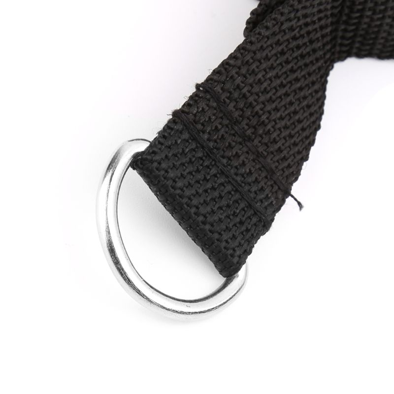 D ring Spring Pull Rope Cable Bar Elastic String Foam Handle Fitness Equipment in Accessories from Sports Entertainment