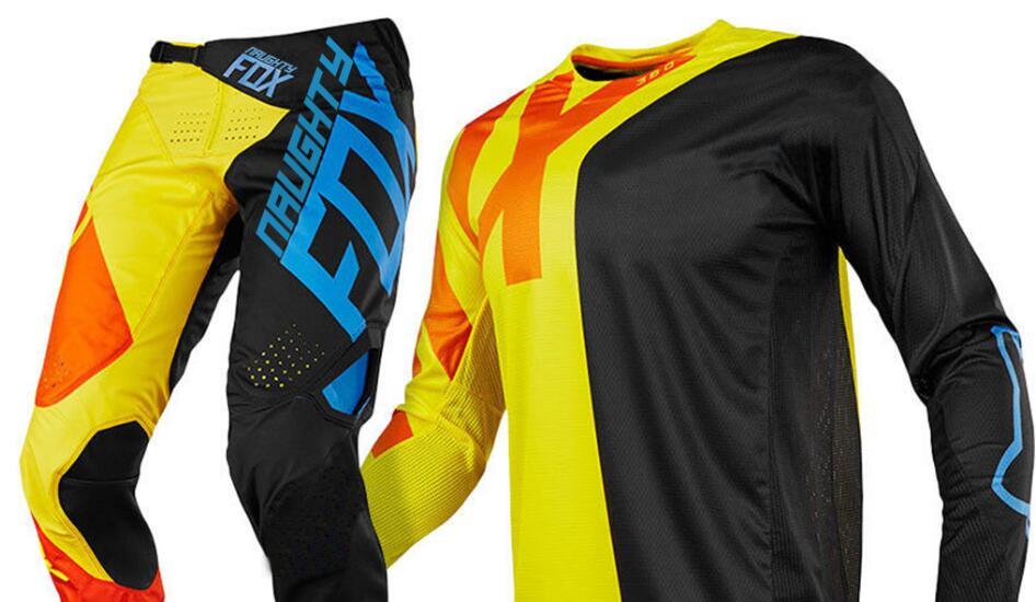 MX 360 Preme Black/Yellow Motocross Adult Kit Gear Jersey & Pant set 2018
