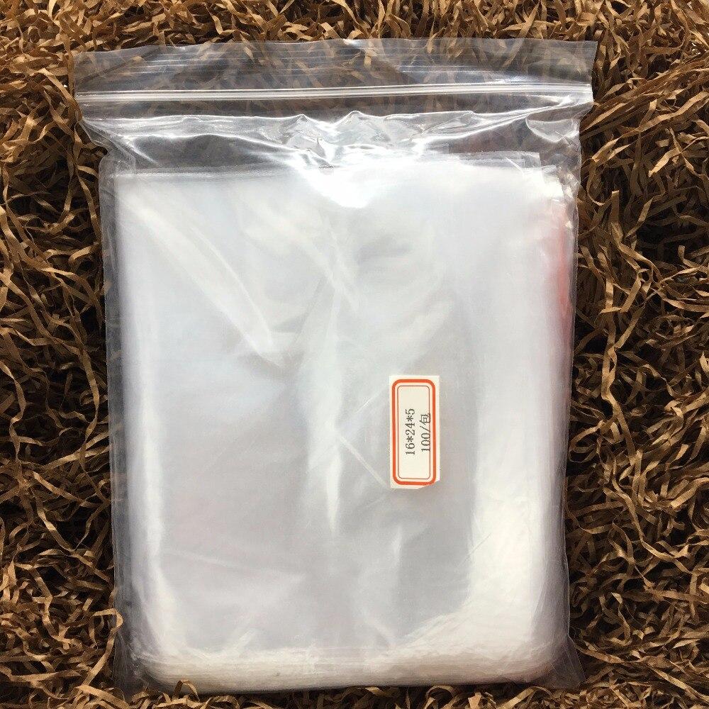 1624cm Wholesale 100Pcs Transparent Food Phone Card Valve