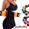 2016 mulheres formadores de cintura neoprene ceinture minceur gaine amincissante suor cinto corsets slimming body shaper underwear