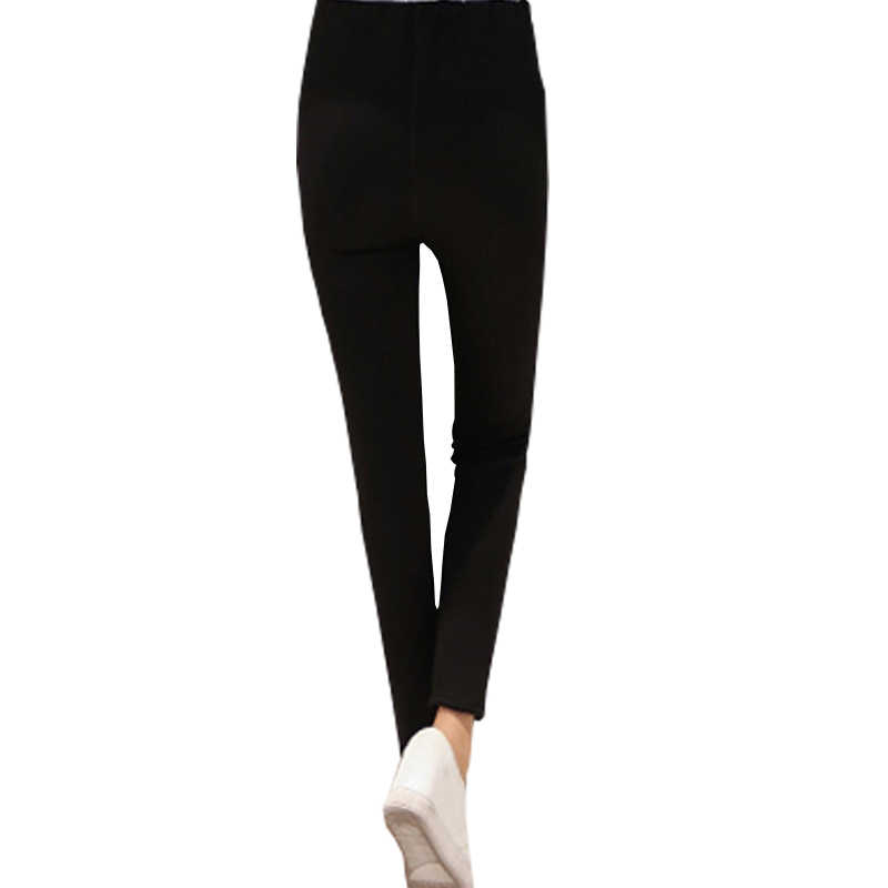 9d7173ecf336c ... Women clothing maternity clothes winter Leggings thickened with velvet pregnant  women trousers warm pants ...