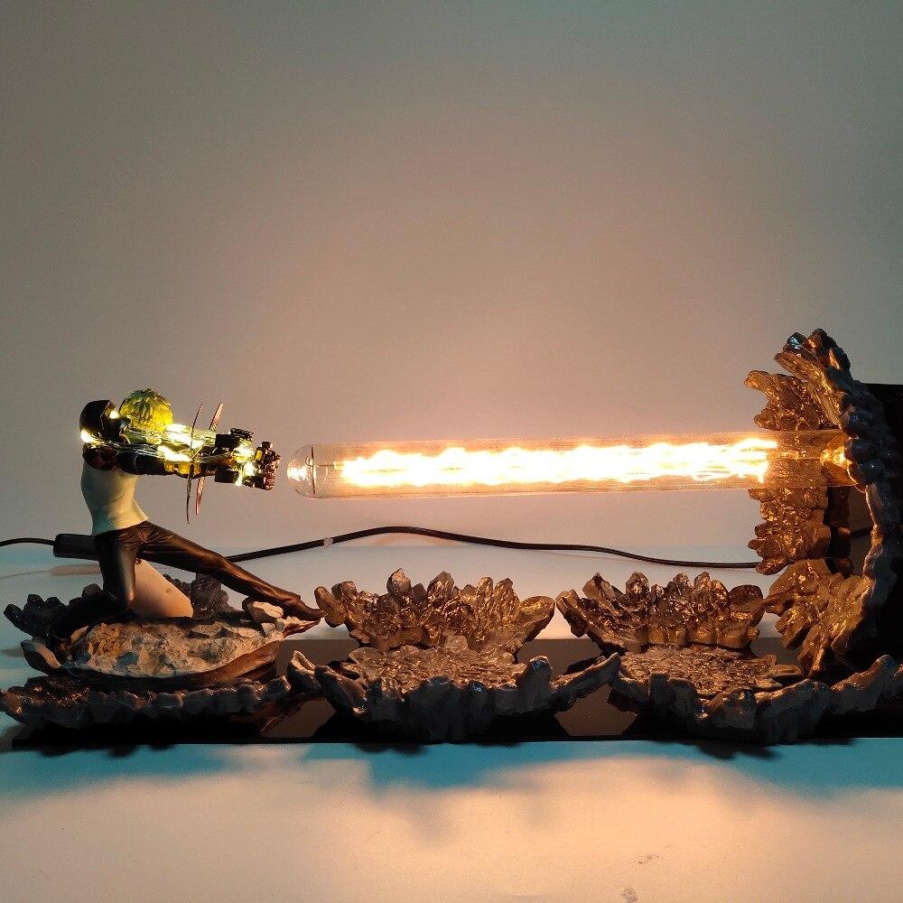 Um Homem Soco Genos Action Figure Brinquedos Canhões de Incineração Cena Levou Um-Homem Soco Anime Estatueta Figura Genos