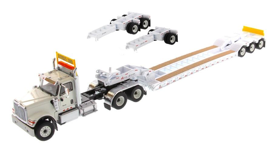 DM 71015 1 50 International HX520 Tandem Day Cab Tractor with XL 120 Lowboy Trailer in