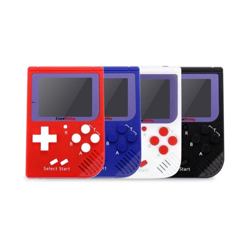 Portable Spielkonsolen Original Tragbare Tasche Handheld Videospiel-konsole 2,2 Inch Lcd 8 Bit Mini Tragbare Spiel Player Eingebaute 129 Spiele Geschenk Für Kinder