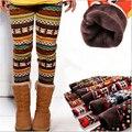 Oferta especial de otoño e invierno de los niños de 3-12 años de algodón caliente Pant todo fósforo polainas del espesamiento de lana de los niños pantalones gruesos