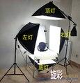 Набор непрерывного освещения для фотостудии 60x130 см  стол для фотосъемки и четыре 50x70 см  софтбокс  набор для съемок CD50