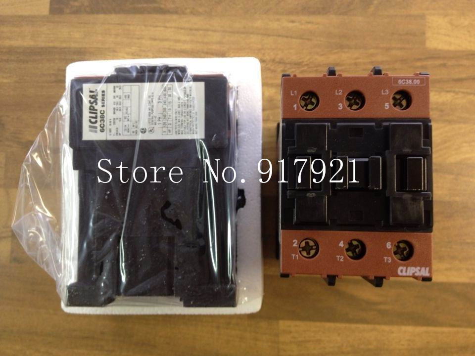 [ZOB] The original CLIPSAL Clipsal 6C38C/31 DC110V 60A genuine original DC contactor  --2pcs/lot [zob] authentic original contactor lc1d25 dc contactor coil dc110v lc1 d25fdc 25a