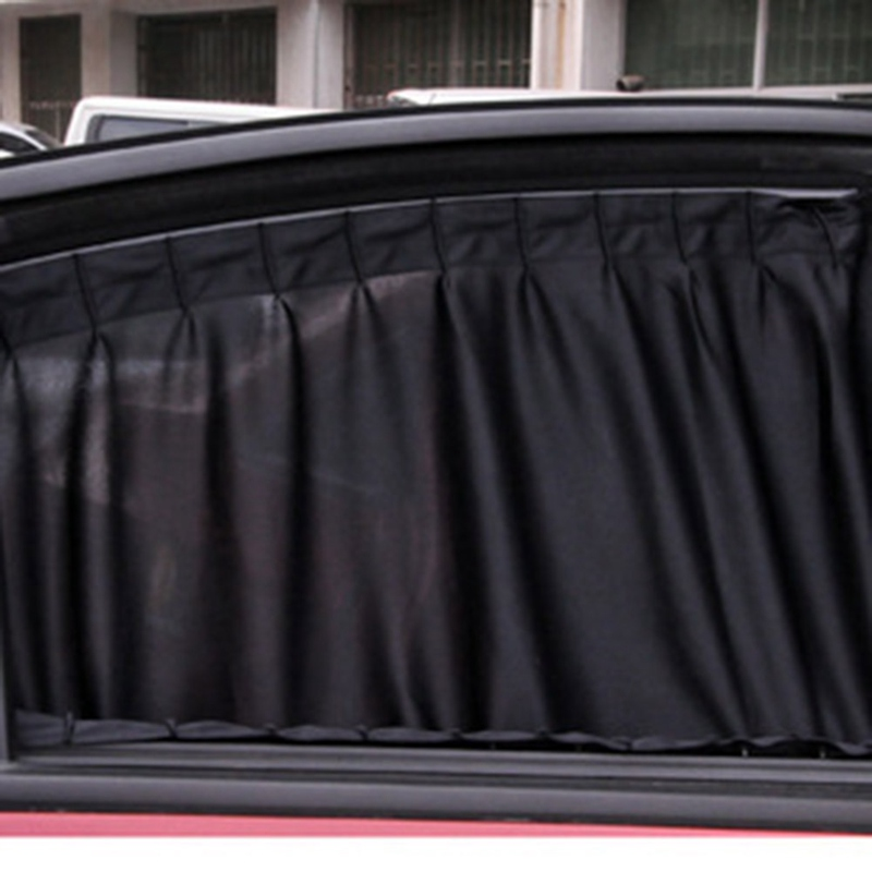 Image 3 - 2pcs/Set Universal Car Side Window Sunshade Curtains Auto Windows Curtain Sun Visor Blinds Cover Car Styling S,L Size-in Side Window Sunshades from Automobiles & Motorcycles