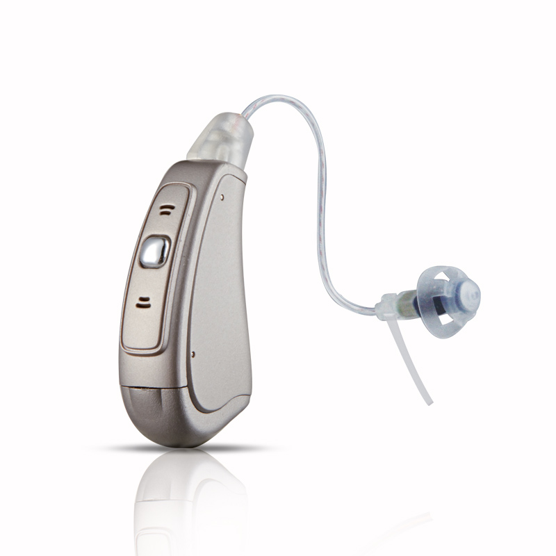 Intelligent Multi-core 18 canale 18 benzi 3 Programe Built-in Tinitus Masker Programare digitală Ureche deschisă RIC Hearing Aid