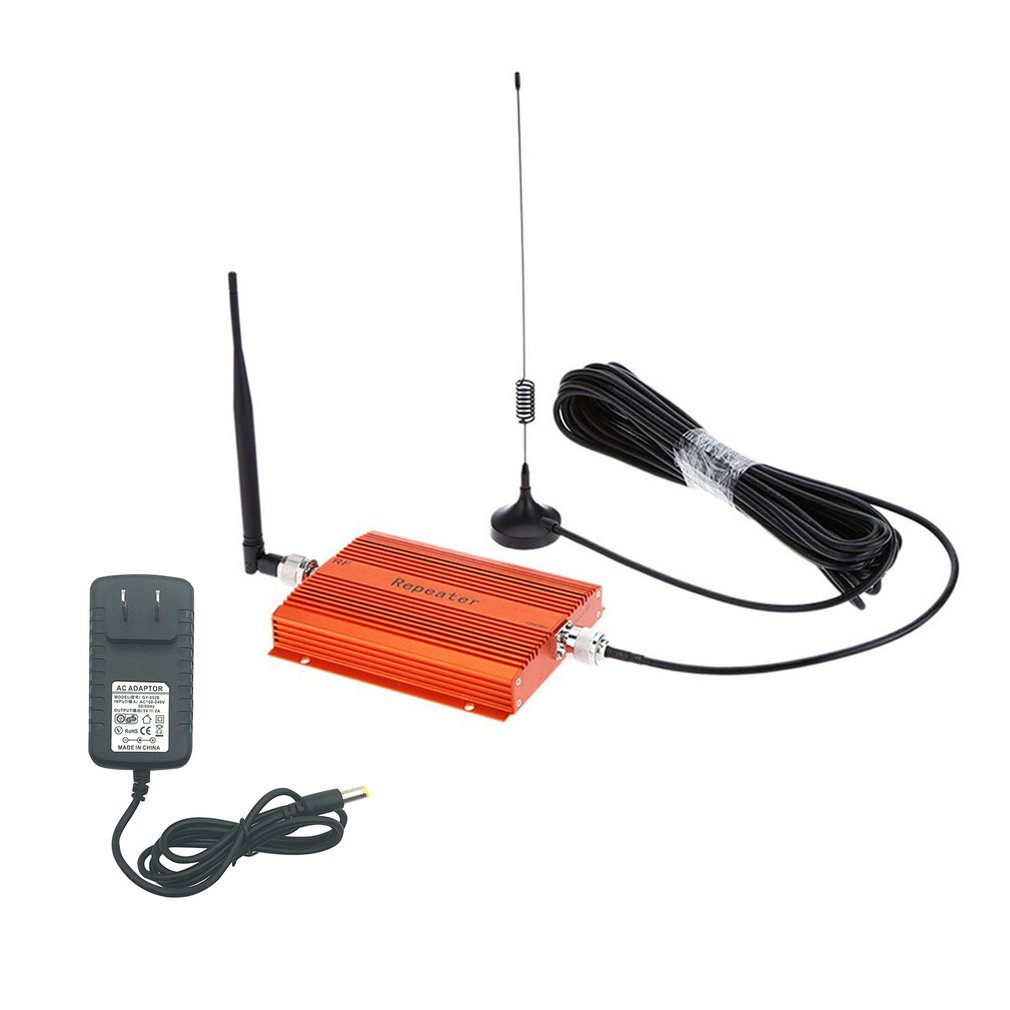 Repeater 850 MHz GSM CDMA <font><b>850MHz</b></font> Mobile Phone Repeater Cell Phone Signal Amplifier Extender Kit CDMA850Mhz Booster With Antenna image
