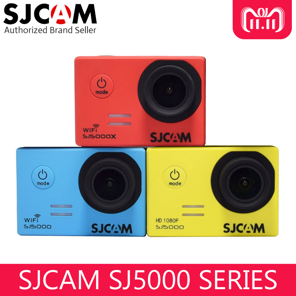 SJCAM SJ5000 Series Original Action Camera Waterproof 30m Diving Helmet SJ5000/SJ5000 Wifi/SJ5000X 4K Elite Outdoor Sport DV original sjcam sj5000x elite wifi 4k action camera gyro ultra hd waterproof diving outdoor mini sport dv