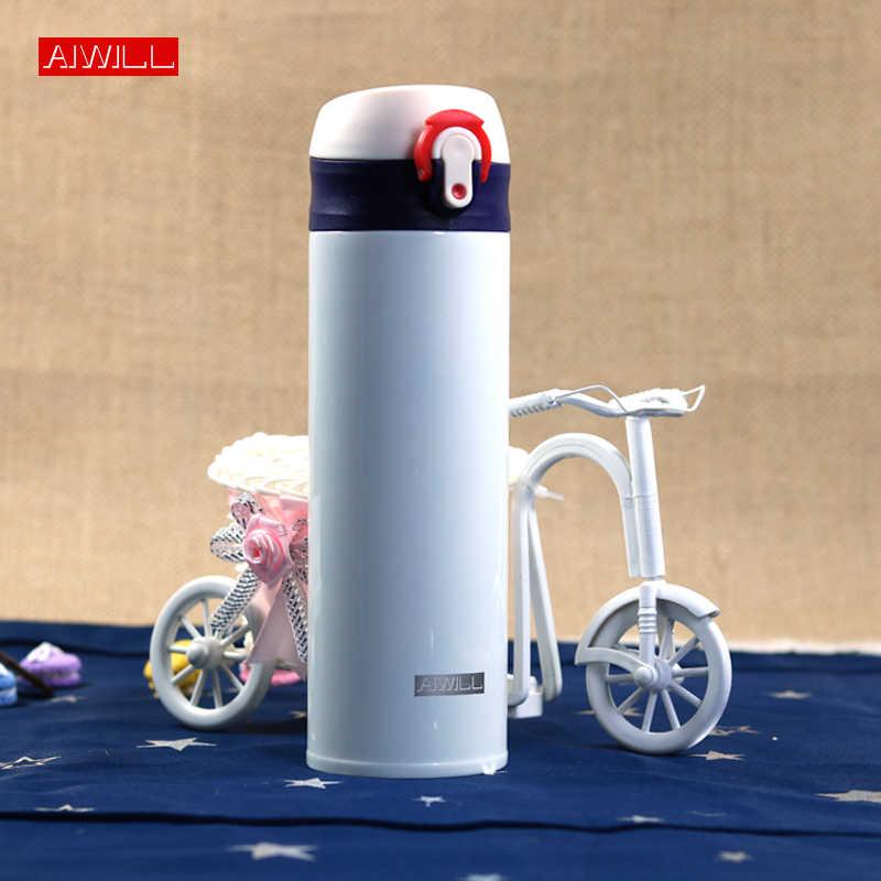 ホットtepmocステンレス鋼真空フラスコ水ボトル用女性/男性/子供/女の子ギフト魔法瓶ボトルサーモドリンクaiwill