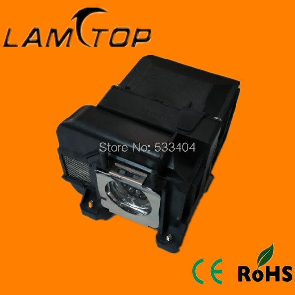 FREE SHIPPING  LAMTOP  180 days warranty  projector lamps with housing  ELPLP75  for  EB-C745WN free shipping new projector lamps bulbs elplp55 v13h010l55 for epson eb w8d eb dm30 etc