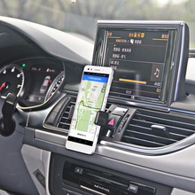 1 PC/LOT New Free shipping Adjustable Car Air Vent Mount Cradle Holder Stand For iphone 7S 6S 5S Mobile Phone GPS