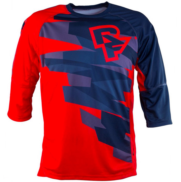 Yellow Off Road Wholesale MOTO Motocross racing JERSEY Motorcycle Long sleeve Jersey MTB Downhill bike shirt MOTO MX DH gear in Cycling Jerseys from Sports Entertainment