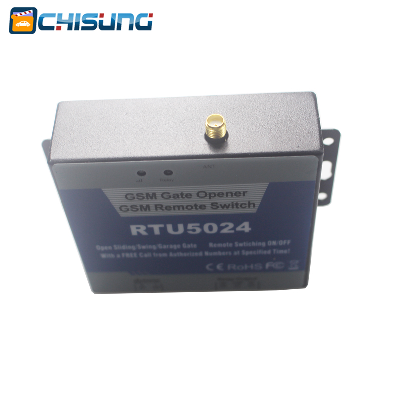 RTU5024 Interruptor do relé do abridor de porta GSM Controle remoto - Segurança e proteção - Foto 3