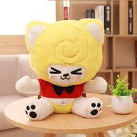 [4 Style 2 Colors 43cm ] 1Pc Romantic Japanese Alpacasso Sheep Plush toys Cartoon dolls pillow Kawaii Alpaca Fast Shipping