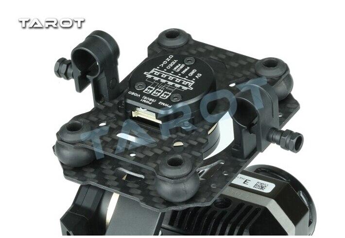 Tarot métal efficace FLIR caméra de cardan d'imagerie thermique 3 axes CNC cardan pour Flir VUE PRO 320 640PRO TL03FLIR - 5