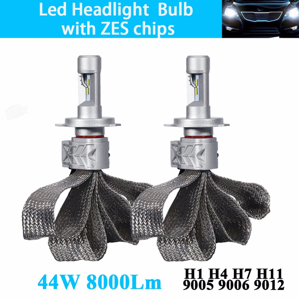 Car Led Headlight Bulb H4 H7 H11 H16 JP 9005 HB3 9006 HB4 9012 HIR2 Conversion Kit Headlamp Fog Auto High Low Beam Light 12V 24V