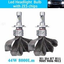 Car Led Headlight Bulb H4 H7 H11 H16 JP 9005 HB3 9006 HB4 9012 HIR2 Conversion Kit Headlamp Fog Auto High Low Beam Light 12V 24V