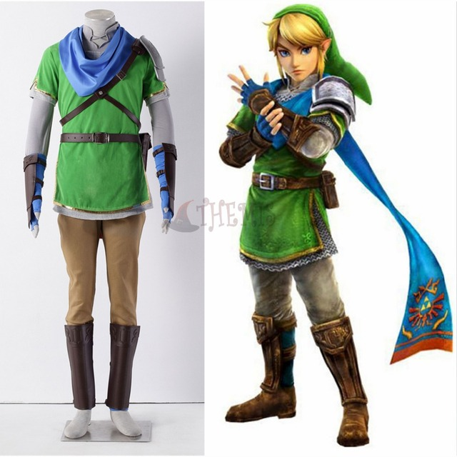 Athemis The Legend of Zelda Hyrule-Warriors link Cosplay Costume high quality any size outfit  sc 1 st  AliExpress.com & Athemis The Legend of Zelda Hyrule Warriors link Cosplay Costume ...