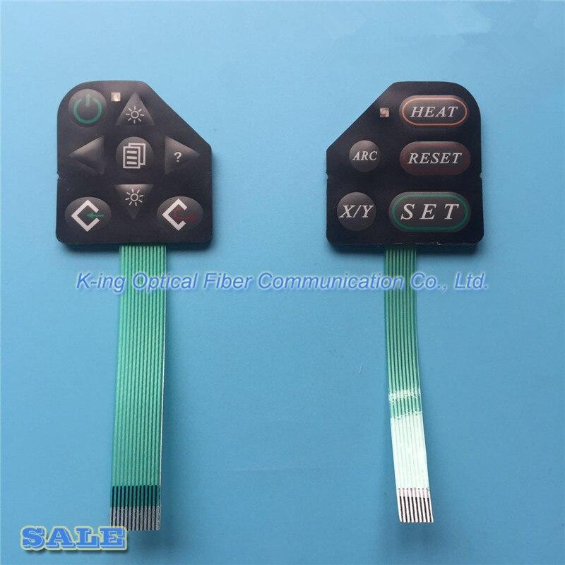 Fujikura FSM-50S FSM-50R FSM-17S FSM-17R Splicer Fusão de Fibra Óptica Teclado 1 Par