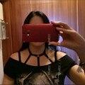 Goth Divertido Vestido de Bruja, Rave Wear, Bondage Caged Lencería, Crop Top Negro Arnés de Cuerpo, Rave festival de Ropa, Pentagram Arnés