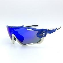 Hommes UV400 cyclisme 2018 Multi unisexe cyclisme lunettes Sport conduite vélo lunettes de soleil course 5 lentilles