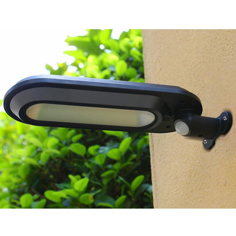 Solar Lamp Wall Portable Led Sensor Automatically Waterproof Rechargeable Flashlight Night Garden Road Street Light Outdoor Bulb