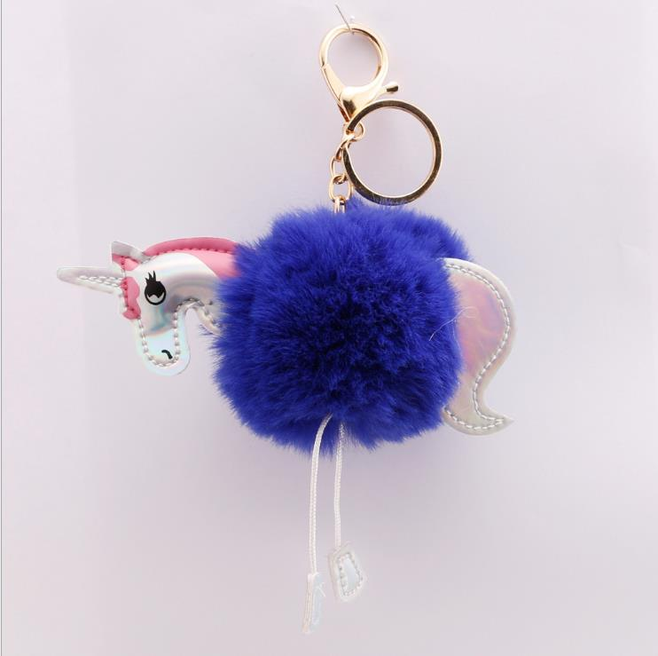 Owls Toy Chest Soft Closing Foam Padded Storage Children S: Rainbox 10 Colors Soft Plush Fake Unicorn Animal Fur Pom