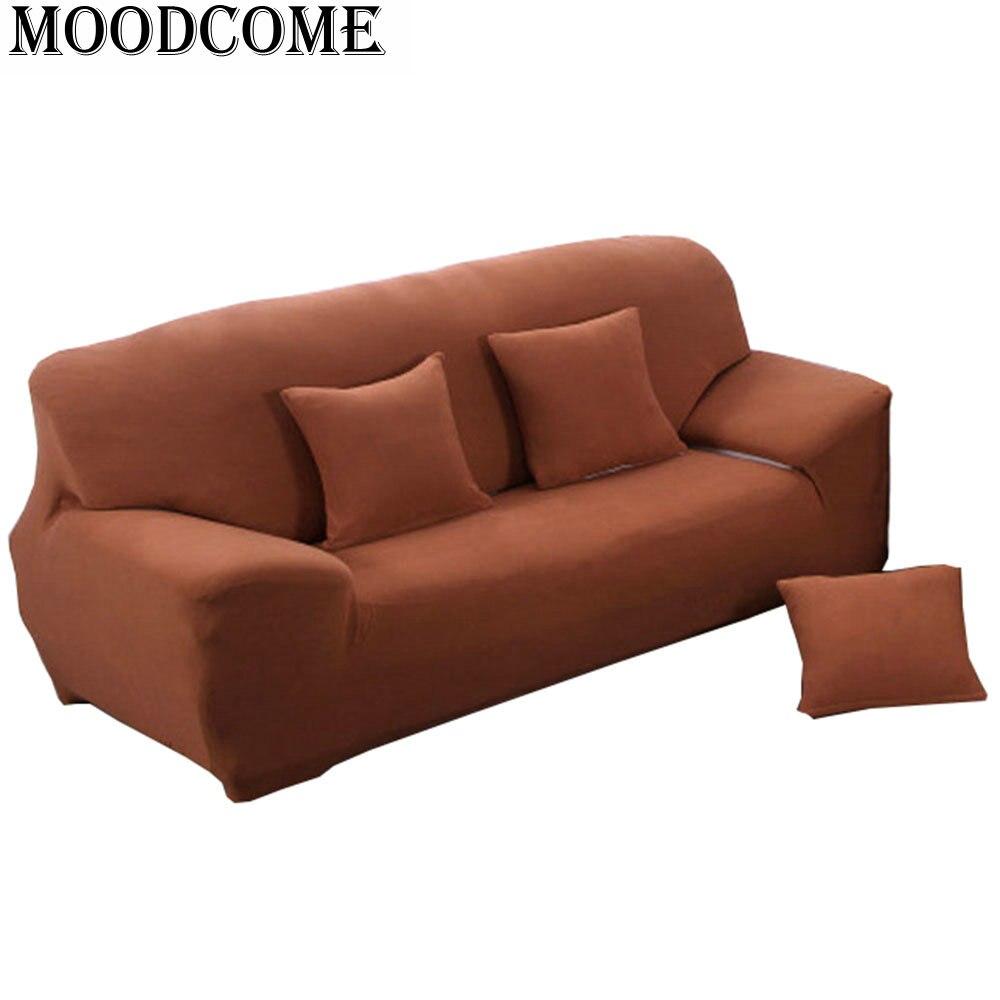 effen kleur sofa hoes housse de canape fundas sillones fundas sofa - Thuis textiel
