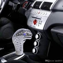 Pommeau de levier de vitesse universel Cobra, nouveau pommeau de levier de vitesse, œil LED personnalisé