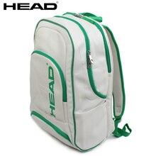 7694ef32bcb 2018 HEAD High Quality PU Tennis Racket Bag Badminton Raquete Backpack With  Breathable Shoes Bag Christmas