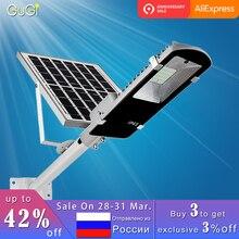 20 W 100 W de iluminación al aire libre llevó la luz de calle Solar impermeable más grande del Panel Solar de Control remoto de energía Solar Led Luz de calle para jardín