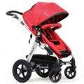 Высокое Качество Роскошная Прогулочная Коляска Младенца Мода Hign Пейзаж Малолитражного Автомобиля Противоударный Складной Коляски и Коляски для Новорожденных C01