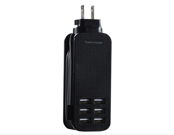 Mobile téléphone rapide chargeur Voyage usb chargeur tête 6-port mobile téléphone chargeur 6USB chargeur