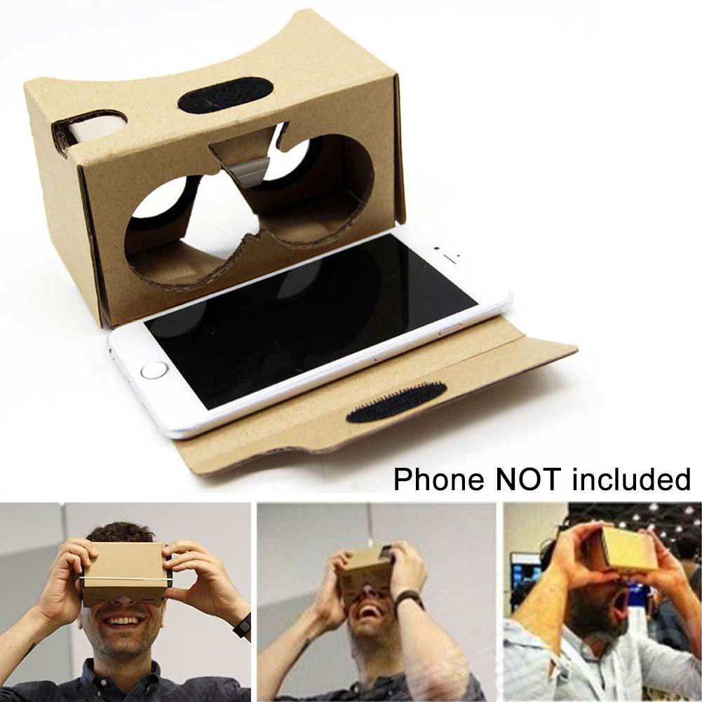 DIY Cardboard VR Virtual Reality 3D Glasses For iPhone Google smartphone 2016 APE