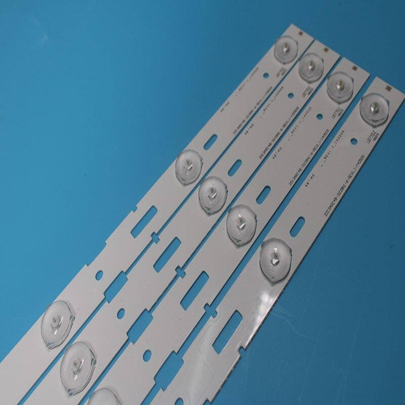 NOVA 10 PCS 48 polegada Retroiluminação LED tira bar lâmpada 2013ARC48-3228N1-6-REV1.1 para Sam sung LSC480HN05-A48-LB-6436/B48-LW-5433