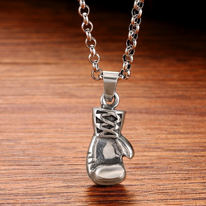 Sterling  Silver  925  Boxing  Glove  Pendant   ! Brand  New !