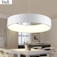 45 cm ronda lámpara LED Restaurante Salón del hotel Oficina comedor lámpara colgante hogar suspender