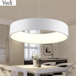 45cm round led lamp restaurant living room hotel hall office dining room Chandelier hanging light pendant lamp household suspend